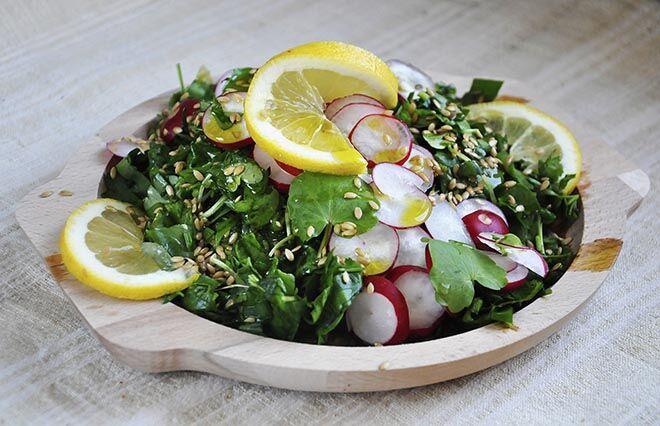 Kendermag saláta