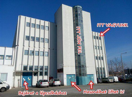 JomTom Száva utcai irodája