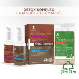 Detox komplex, ajándék útifűmaghéjjal - WiseTree