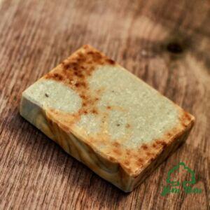 Csipkebogyós szappan zöldagyaggal - Borza Manufaktúra