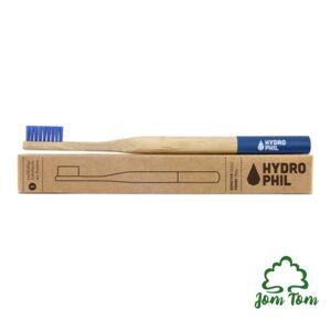 Bambusz fogkefe KÉK - Hydrophil