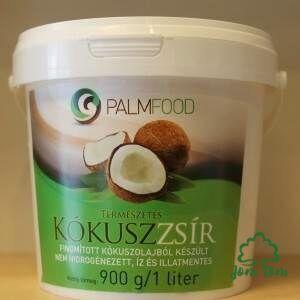 PalmFood finomított kókuszzsir főzéshez, sütéshez