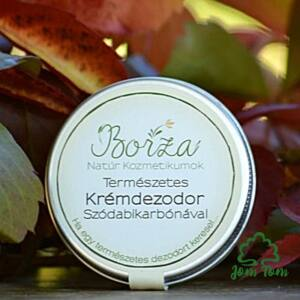 Eukaliptus-Borsmenta természetes krémdezodor szódabikarbónával - Borza Manufaktúra