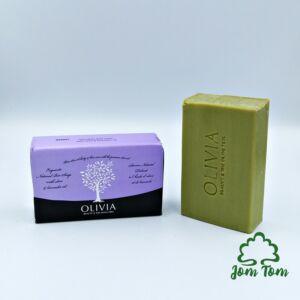 Tradicionális görög olívaolaj szappan, levendulás - 125 gr, Olivia