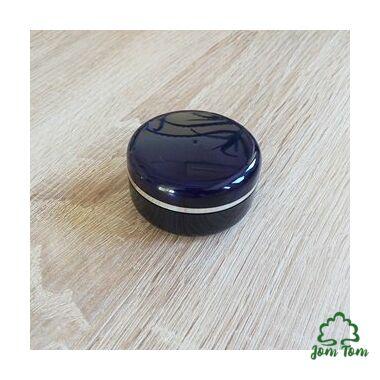 Dekoratív kék kozmetikai tégely - 30 ml