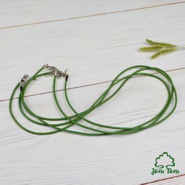 Hengerbőr kapoccsal, zöld