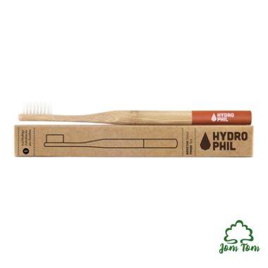 Bambusz fogkefe PIROS - Hydrophil
