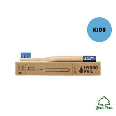 Bambusz gyerek fogkefe PIROS - Hydrophil