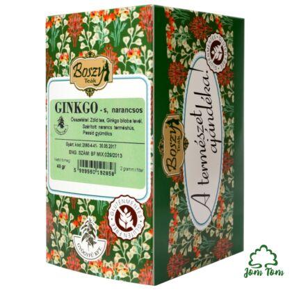 Ginkgo-Narancs tea - Boszy