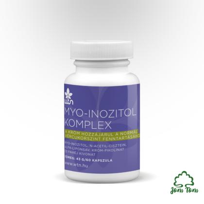 Myo-Izonitol komplex, a normál vércukorhoz - WiseTree