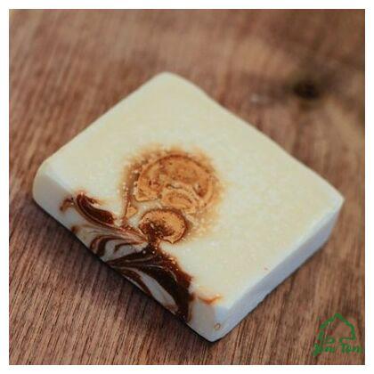 Kakaóvajas kókusz szappan, shea vajjal - Borza Manufaktúra