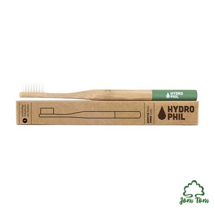 Bambusz fogkefe ZÖLD - Hydrophil