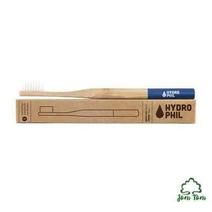 Bambusz fogkefe, extra puha, KÉK - Hydrophil