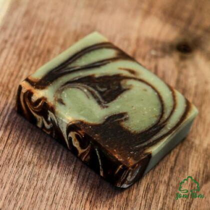 Shea vajas, mentolos, csokis szappan - Borza Manufaktúra