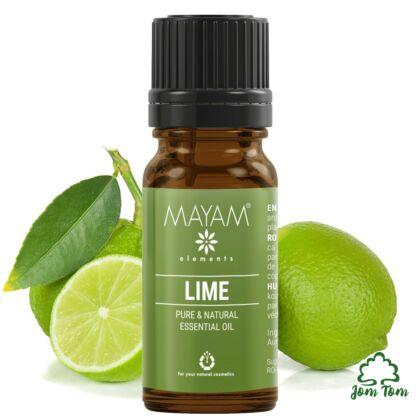 Zöldcitrom illóolaj (Citrus aurantifolia), 10 ml - Mayam