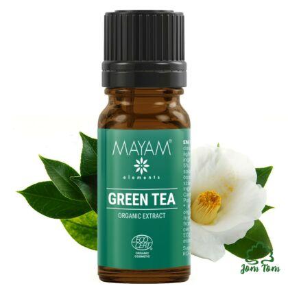 Mayam Zöldtea kivonat, Bio - 10 ml