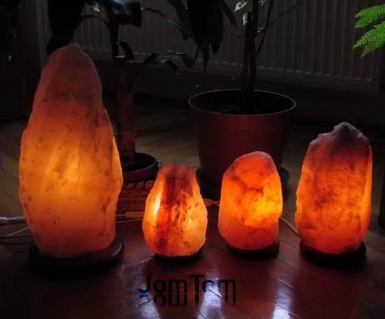 Himalája sólámpák 2-től 35 kg-os súlyig